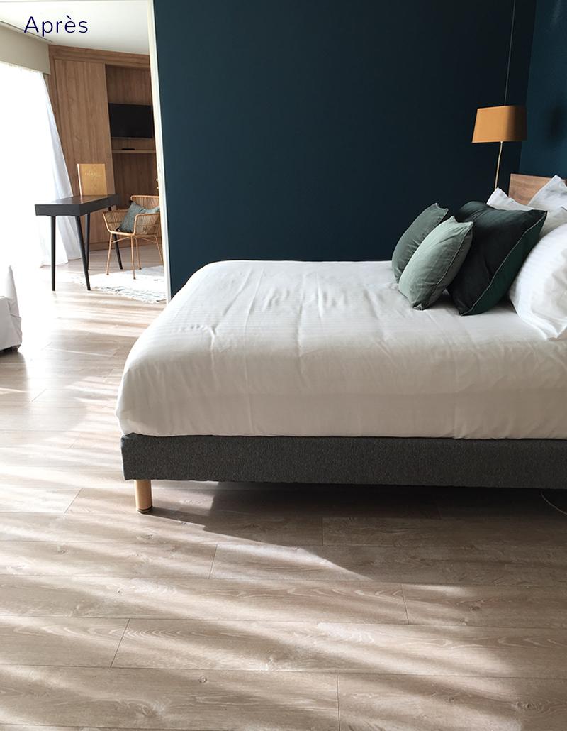 Apres-Chambre2-Lescorallines-Renobvvation-et-decoration-hotel-relookdeco-decoration-dinterieur-a-montpellier-et-la-grande-motte