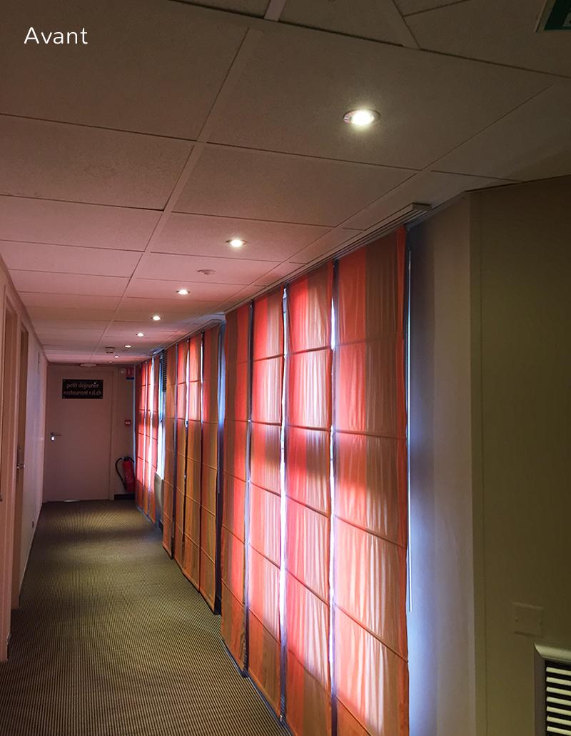 Avant-Couloirs-transformees-Lescorallines-Renobvvation-et-decoration-hotel-relookdeco-decoration-dinterieur-a-montpellier-et-la-grande-motte